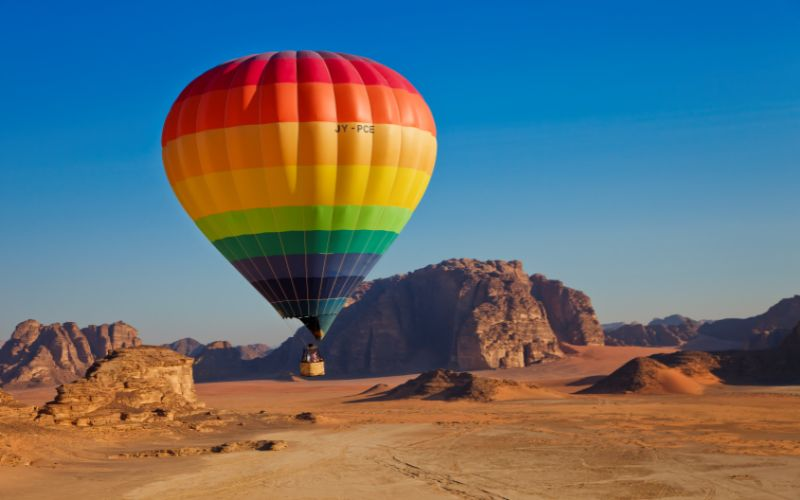 Explore the Great Skies of Jordan!