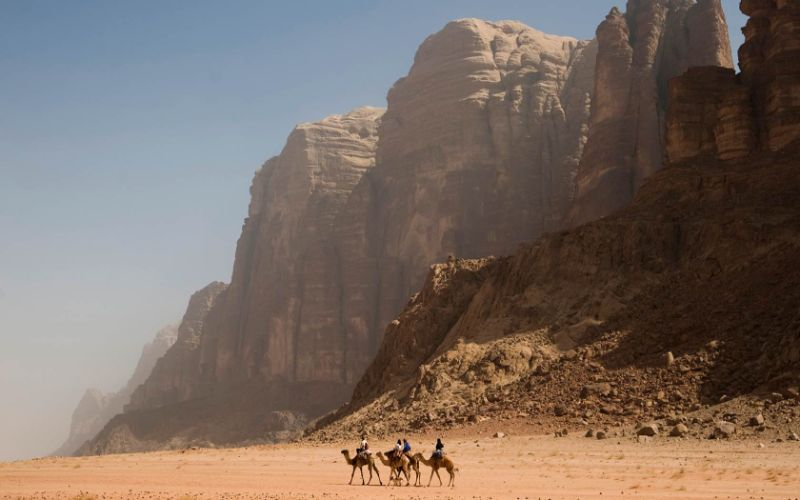 Wadi Rum Regana Dunes and The City of Petra